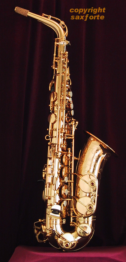 Yas 875ex honey gold alto for Yamaha yas 875